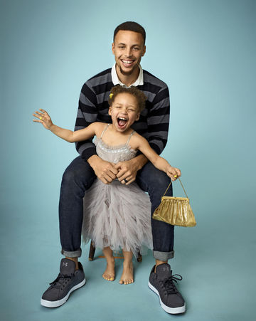 Stephen curry and wife ayesha on marriage kids and their matching stephen curry and riley curry junglespirit Choice Image