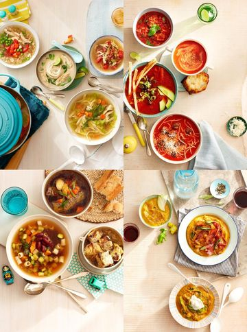 Healthy Soups For Dinner Chicken Tomato Beef Squash