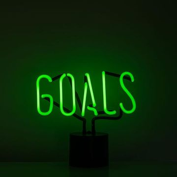 Amped and Co Goals Neon Light Desk Lamp