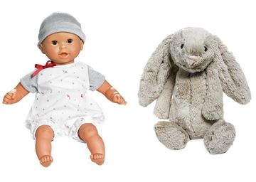 Best Toys of All Time Baby Doll and Plush Bunny