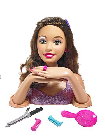Mattel Barbie Color, Cut, and Curl Deluxe Styling Head