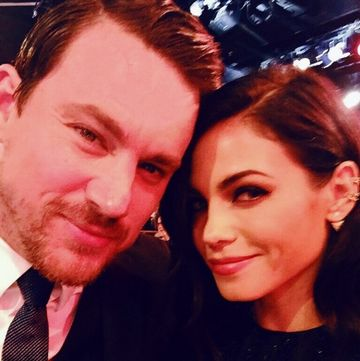 channing tatum and jenna dewan selfie