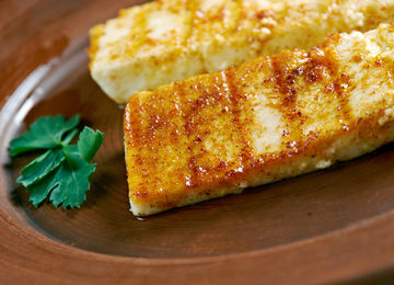 cheese with grill marks