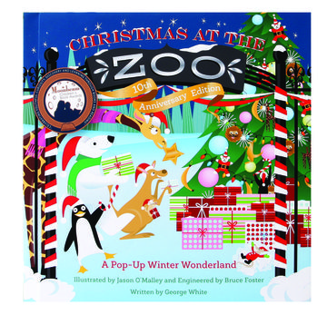 Holiday Books Christmas At the Zoo 10th Anniversary Edition