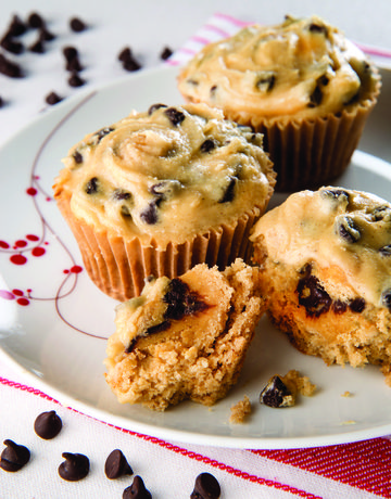 Allergy-Friendly Cookie Dough Cupcakes