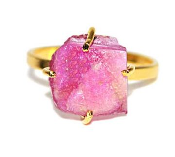 Darla Ring in Pink