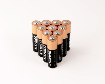 Duracell Batteries Pyramid