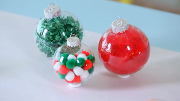 easy Christmas ornaments video