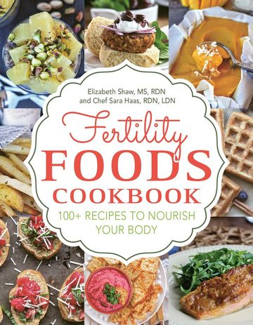 Fertility Foods Cookbook Cover