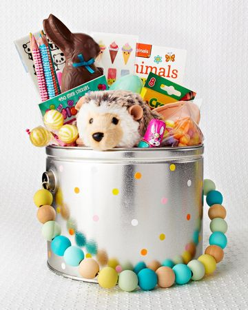 Reusable Easter Baskets Dot Pot Basket