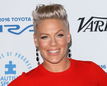 Pink at Autism Speaks event