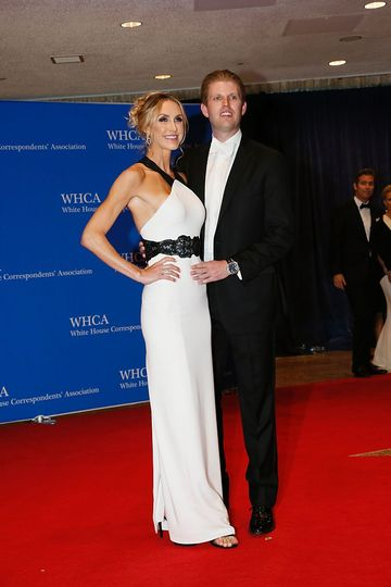 Eric Trump and Lara Trump