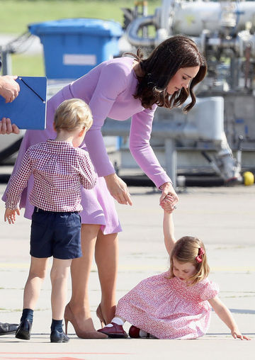 Princess Charlotte Tantrum