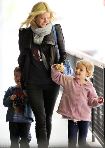 Gwyneth Paltrow with daughter Apple