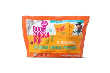 Halloween Snack Angie's Boom Chicka Pop Cheddar Cheese Popcorn