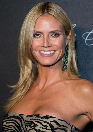 heidi klum at 2015 angel ball