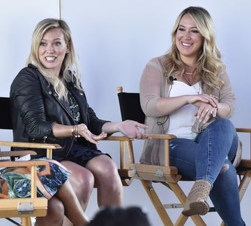 Hilary and Haylie Duff Similac Campaign