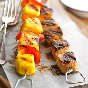 Pork and Pineapple Kebobs