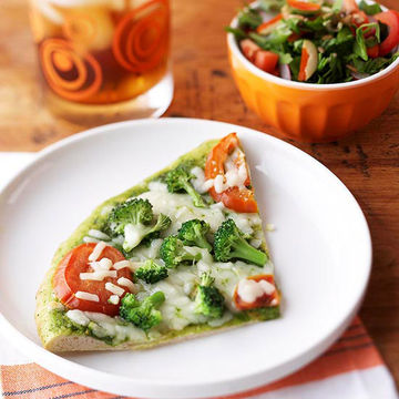 Easy Pizza and Salad
