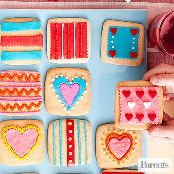 Flair and Square Cookies