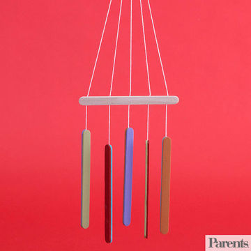 Craft Stick Wind Chimes