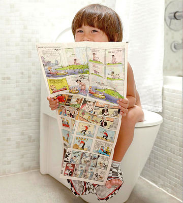 Boy in Bathroom