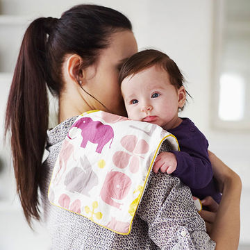 woman holding baby