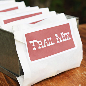 Trail Mix Favors