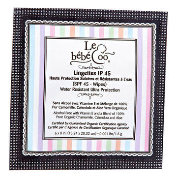 Le bébé Coo SPF Wipes
