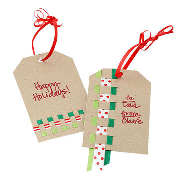 Woven Gift Tag