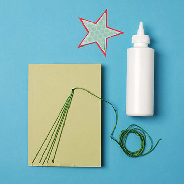 Step 4: Shooting Star Holiday Card