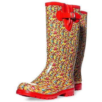 Puddles rubber rainboots