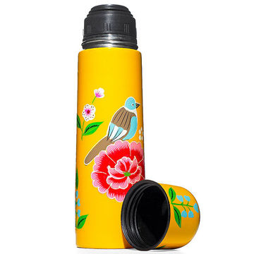 Painted Thermos