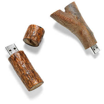 Natural Material Thumb Drives