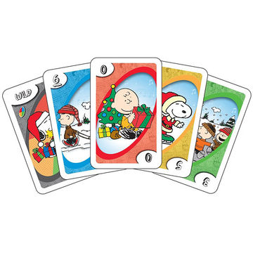 Charlie Brown Christmas Uno