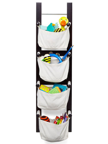 Hanging toy storage unit