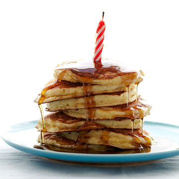 Birthday pancake breakfast