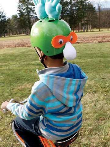 Chicken Bike Helmet
