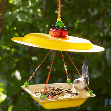 cool canopy bird feeder