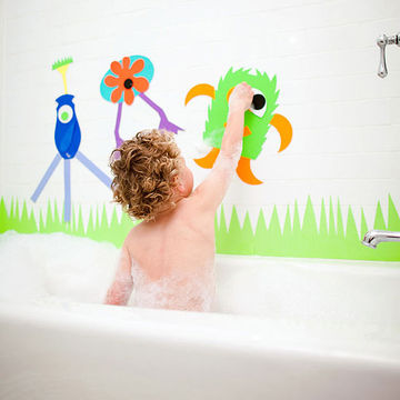 Kid in tub