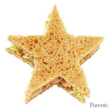 Tuna fish sandwich stars