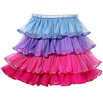 Tulle Tiered Skirt