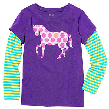 Pony Long-Sleeve Tee