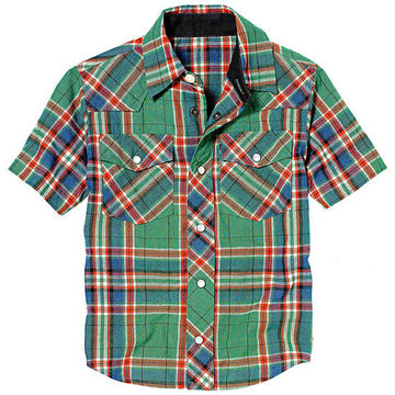 Short-Sleeve Button-Down Shirt