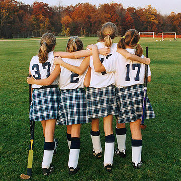 Field hockey girls