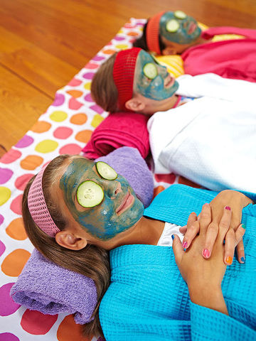 Kids Spa Party Activities