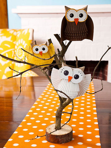 give a hoot paper owl craft. Black Bedroom Furniture Sets. Home Design Ideas