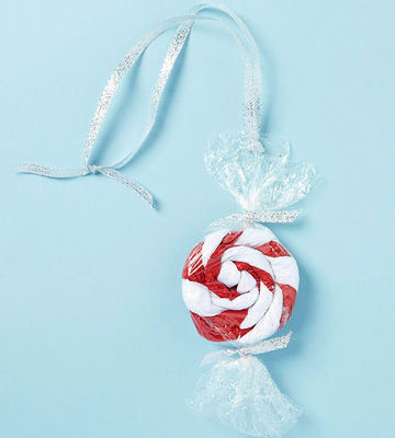 Peppermint Craft Ornament