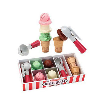 Ice Cream Parlor Pretend Play Set