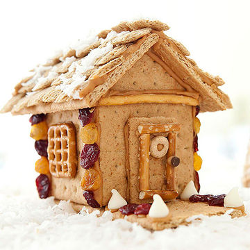 Healthy Gingerbread House